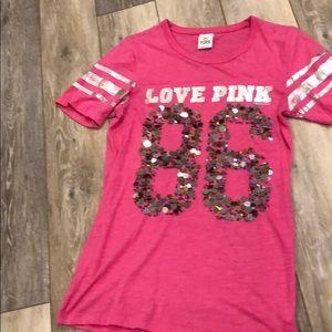 PINK Victoria's Secret Embellished Tee